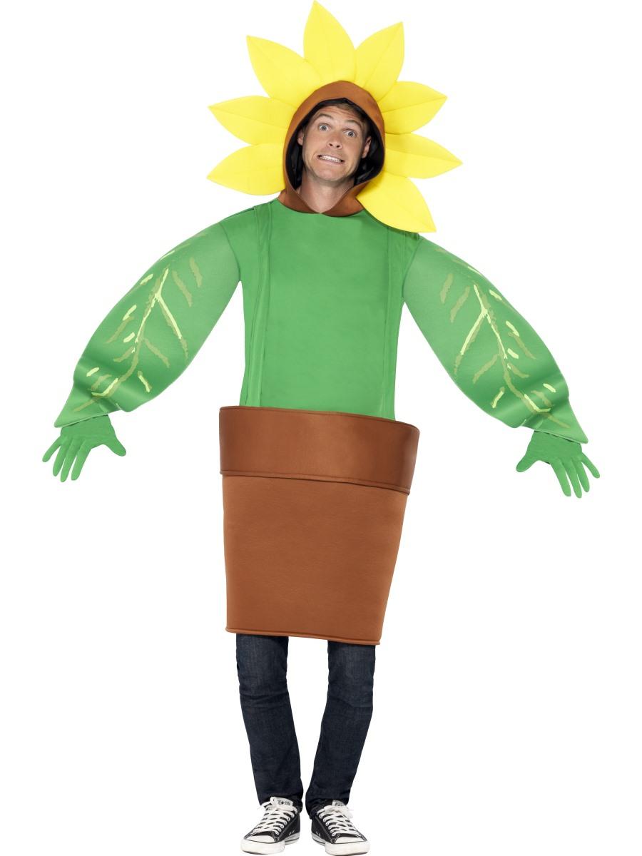adult sunflower costume 43409 fancy dress ball. Black Bedroom Furniture Sets. Home Design Ideas