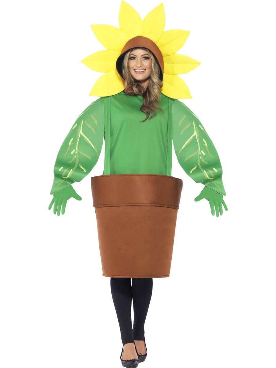 Adult Sunflower Costume - 43409 - Fancy Dress Ball