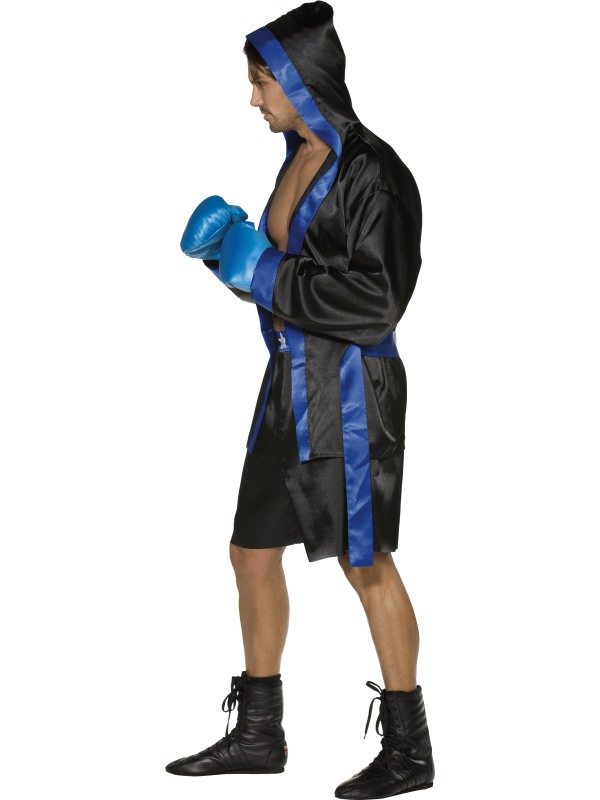 Shiv Naresh Teens Boxing Gloves 12oz: Adult Fever Sexy Boxer Costume