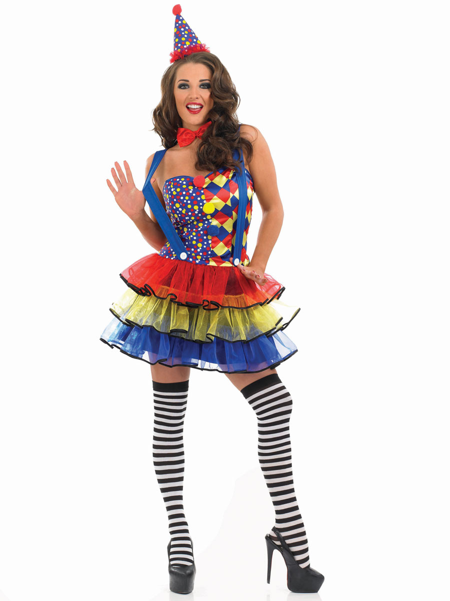 Adult Sexy Clown Costume · VIEW FULL IMAGE  sc 1 st  Fancy Dress Ball : it the clown costume  - Germanpascual.Com