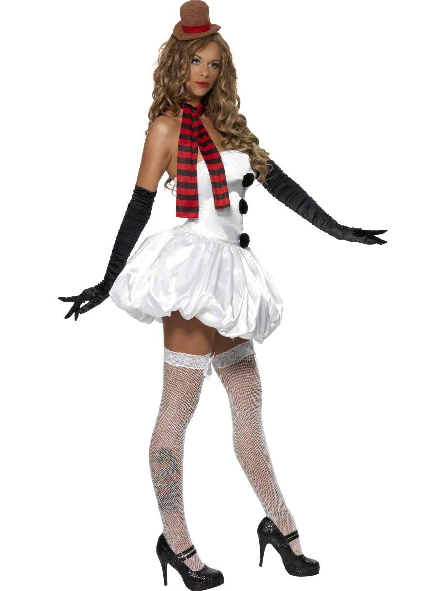 adult sexy snowman costume 33138 fancy dress ball. Black Bedroom Furniture Sets. Home Design Ideas