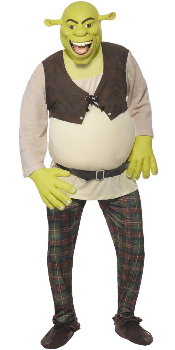 adult shrek costume 38357 fancy dress ball