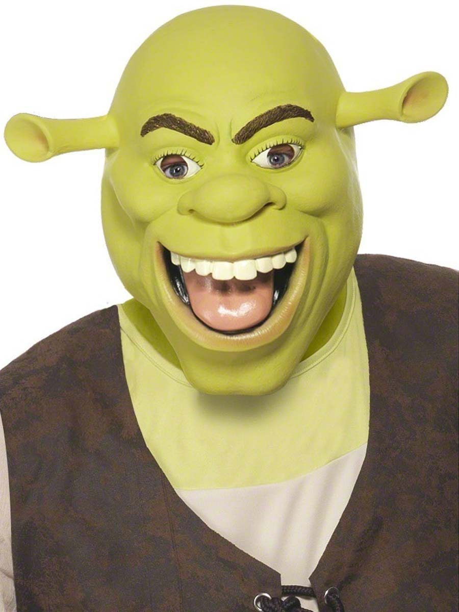 Shrek Latex Mask 37188 Fancy Dress Ball