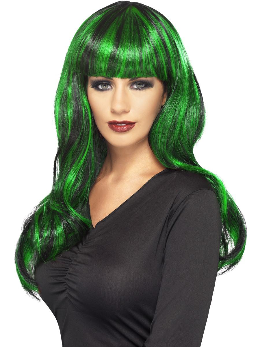 Dark Green Wigs 105