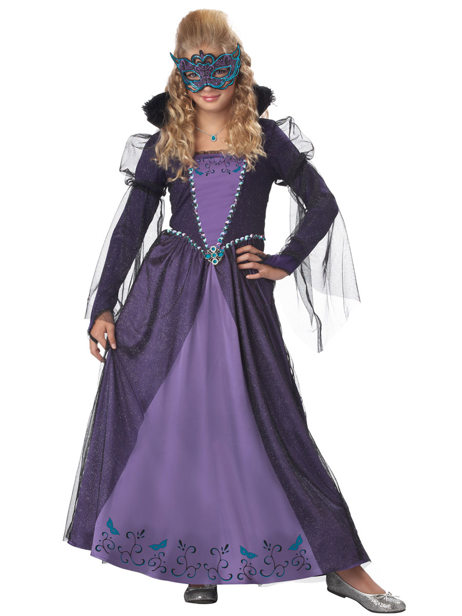 Child Masquerade Costume - 00388 - Fancy Dress Ball