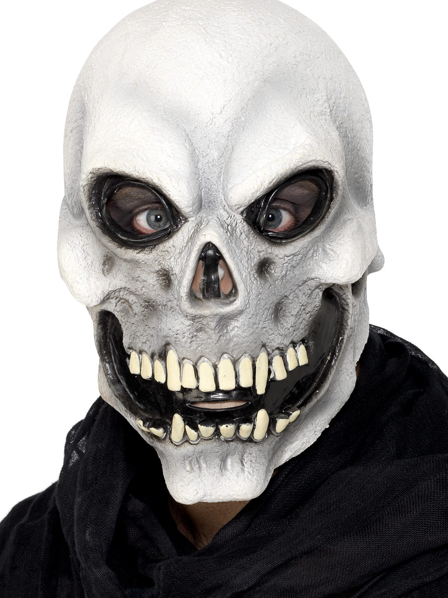 Adult Skull Mask  sc 1 st  Fancy Dress Ball : costume face mask  - Germanpascual.Com