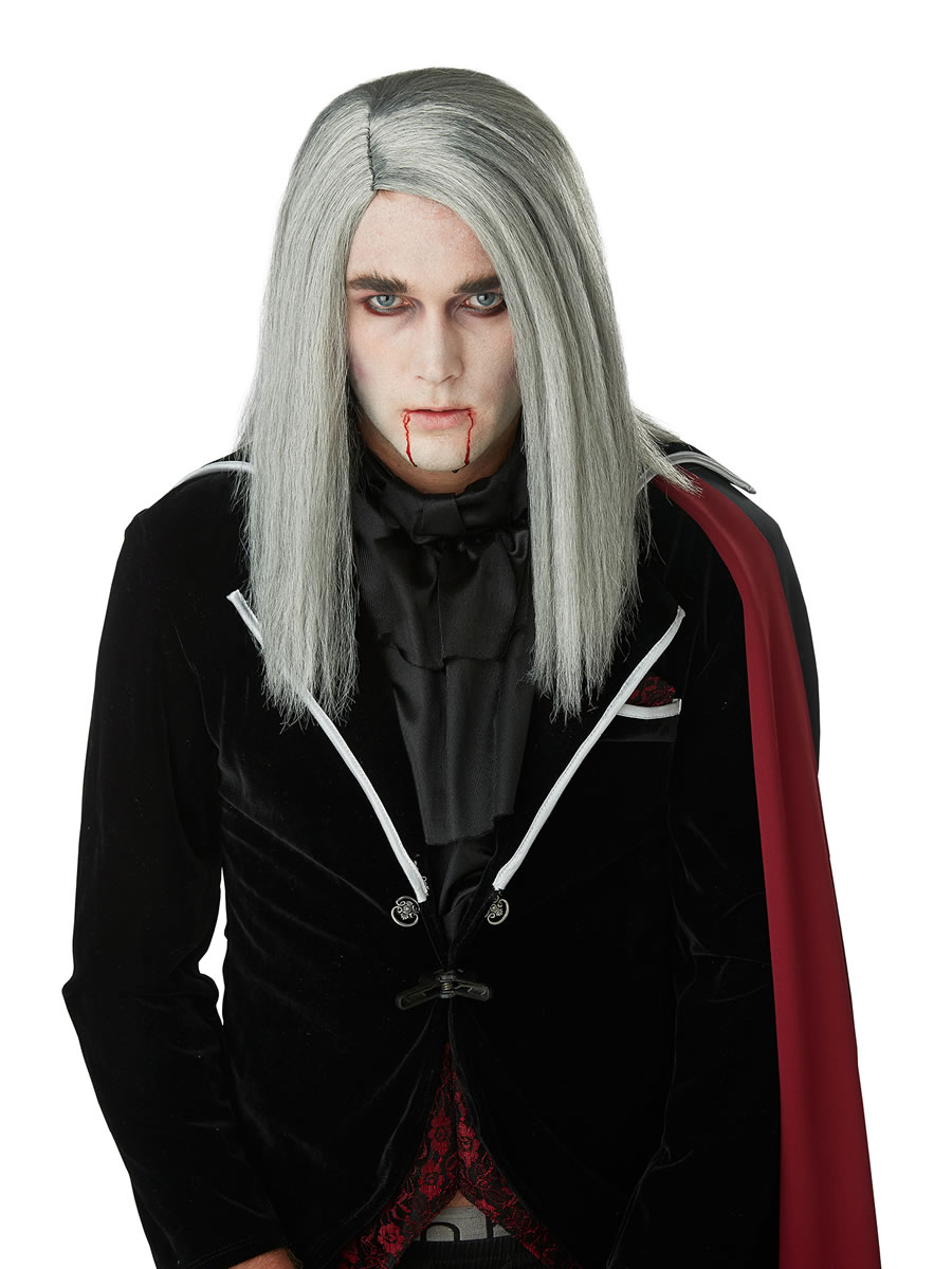 Sleek Vampire Wig 70901 Fancy Dress Ball