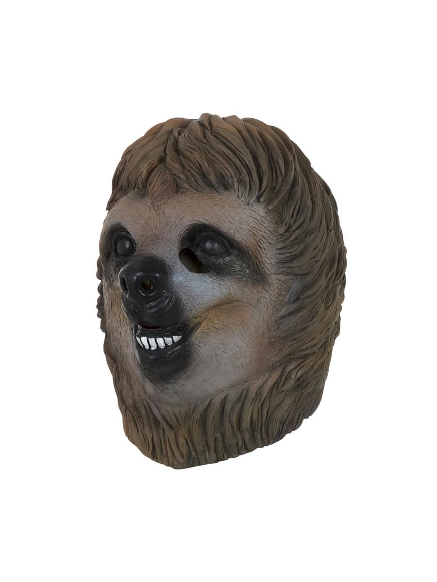 Sloth Mask Bm534 Fancy Dress Ball
