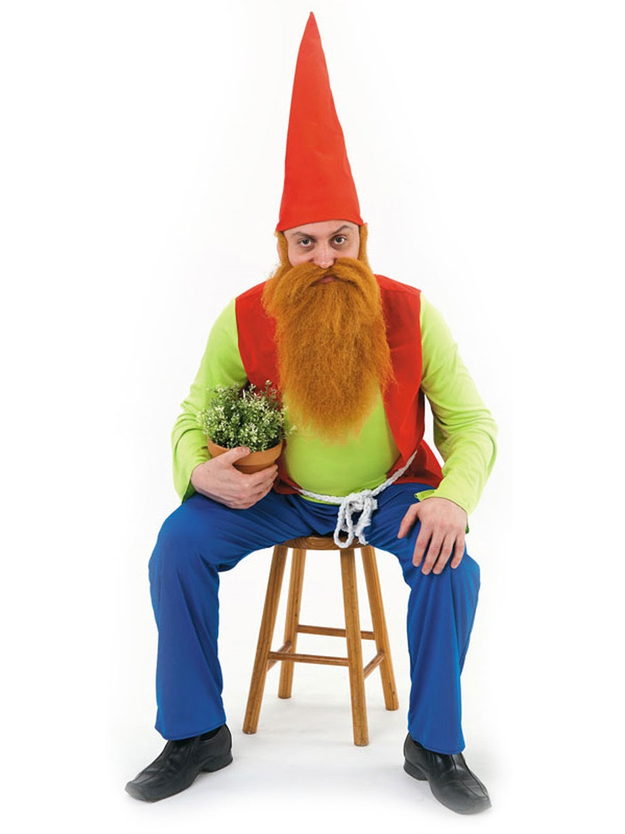 Gnome Garden: Adult Sneezy Gnome Costume