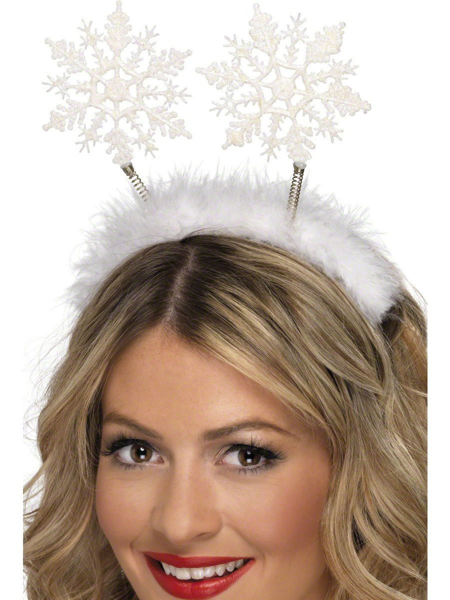 send a letter snowflake boppers white 24790 fancy dress 24790