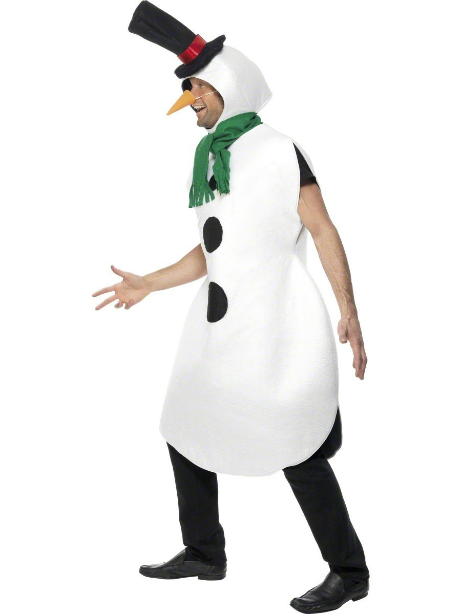 Adult Snowman Costume 31314 Fancy Dress Ball