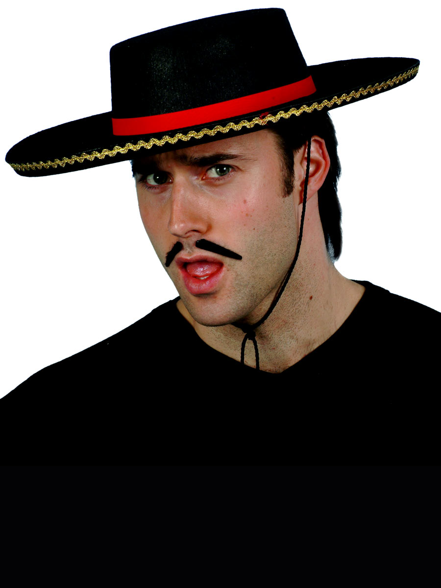 1098d3f0326 Spanish Style Hat - 7761 - Fancy Dress Ball