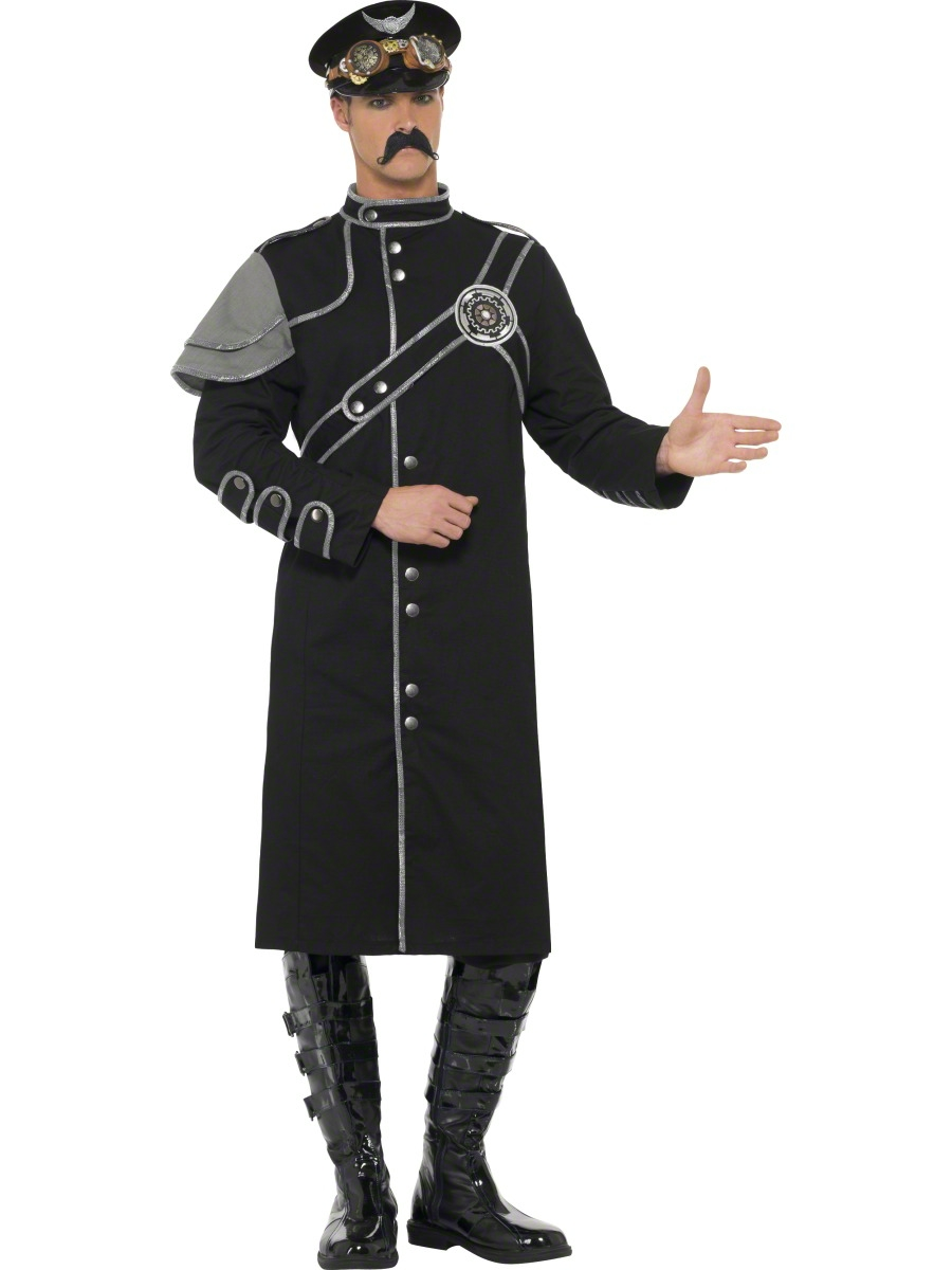 Adult Steam Punk Military Male Costume - 28895