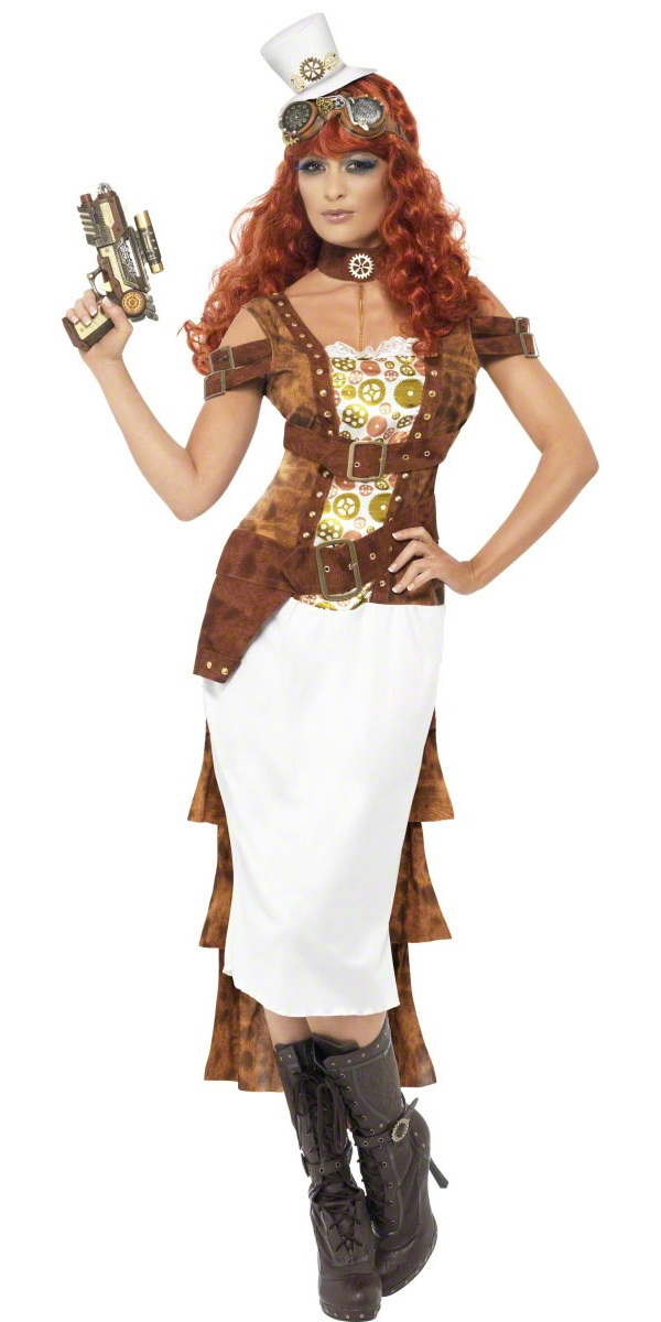 adult steam punk wild west costume view full image