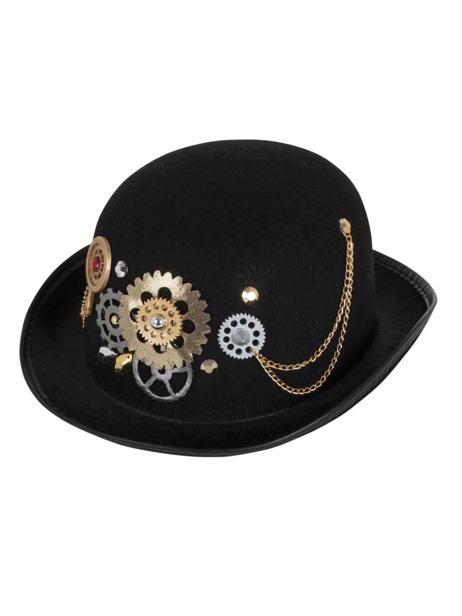 Steampunk Bowler Hat Bh677 Fancy Dress Ball