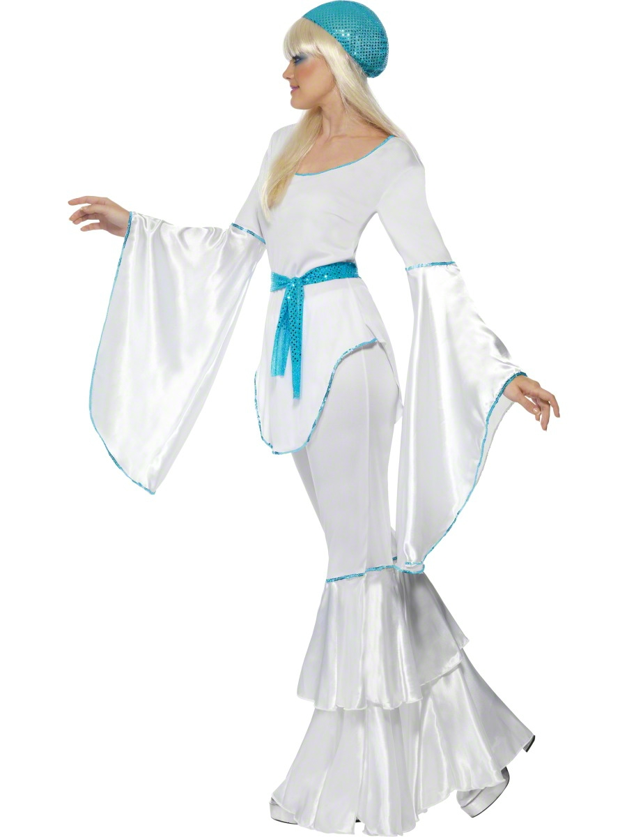 Costume Super Trooper AGNETHA 1970s Adulto Donna Costume S-L