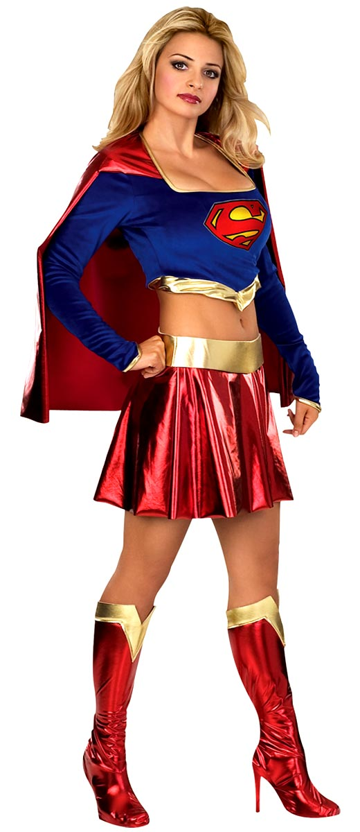 Adult Supergirl Costume  sc 1 st  Fancy Dress Ball & Adult Supergirl Costume - 888441 - Fancy Dress Ball