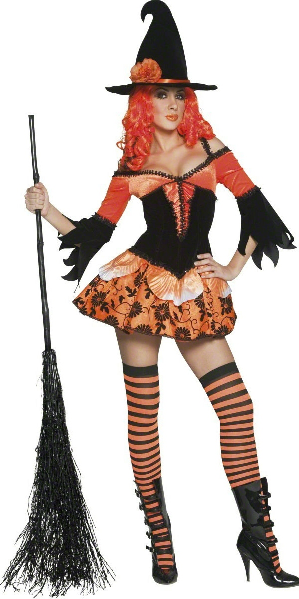 Adult Tainted Garden Wicked Witch Costume - 33750 - Fancy Dress Ball