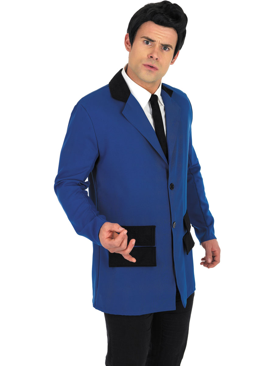 adult blue teddy boy costume fs2791 fancy dress ball. Black Bedroom Furniture Sets. Home Design Ideas