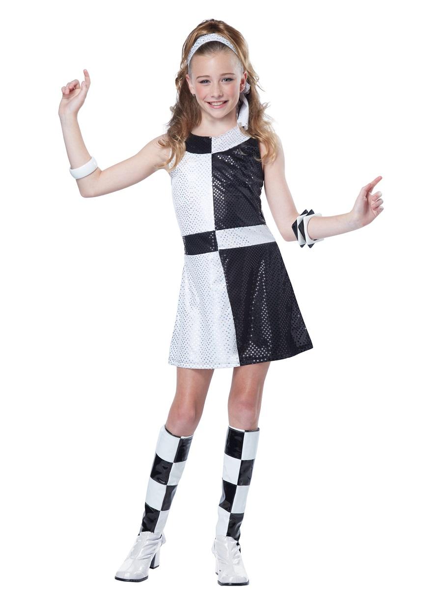 Teen 60s Mod Chic Costume 04084 Fancy Dress Ball