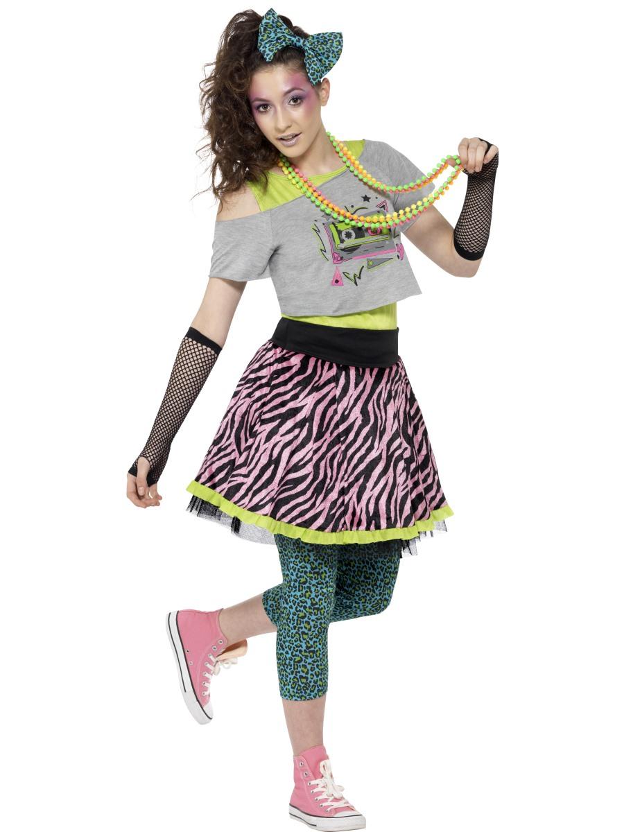 a3d5bf02b81d Teen 80s Wild Child Costume - 44345 - Fancy Dress Ball