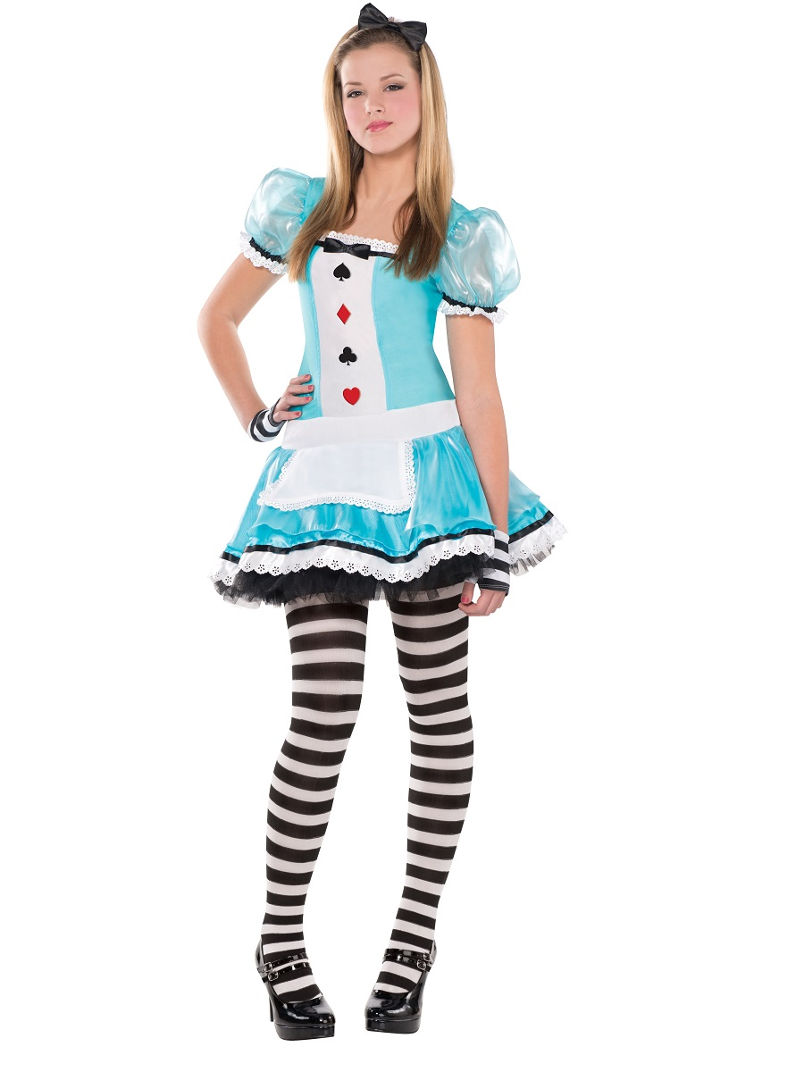 Teen clever alice costume 841967 55 fancy dress ball for Cute halloween costumes for 12 year olds