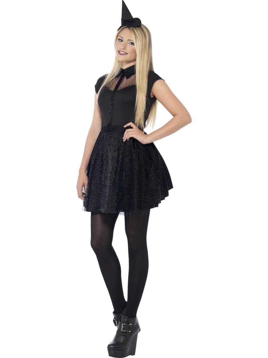 Teen Glitter Witch Costume  sc 1 st  Fancy Dress Ball & Teen Glitter Witch Costume - 44321 - Fancy Dress Ball