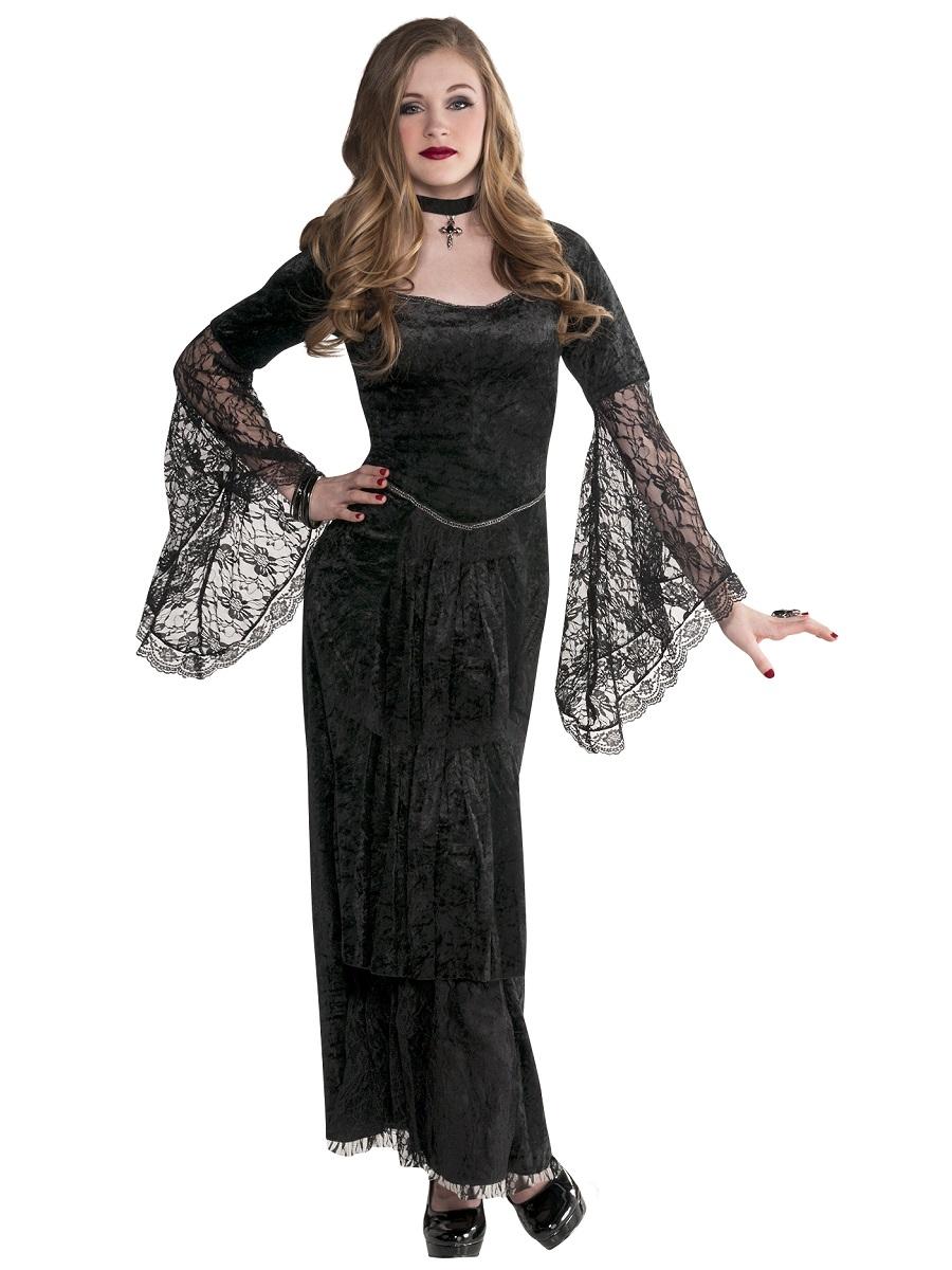 Decorating Ideas > Teen Gothic Temptress Costume  999445  Fancy Dress Ball ~ 185751_Halloween Costume Door Old Ladies