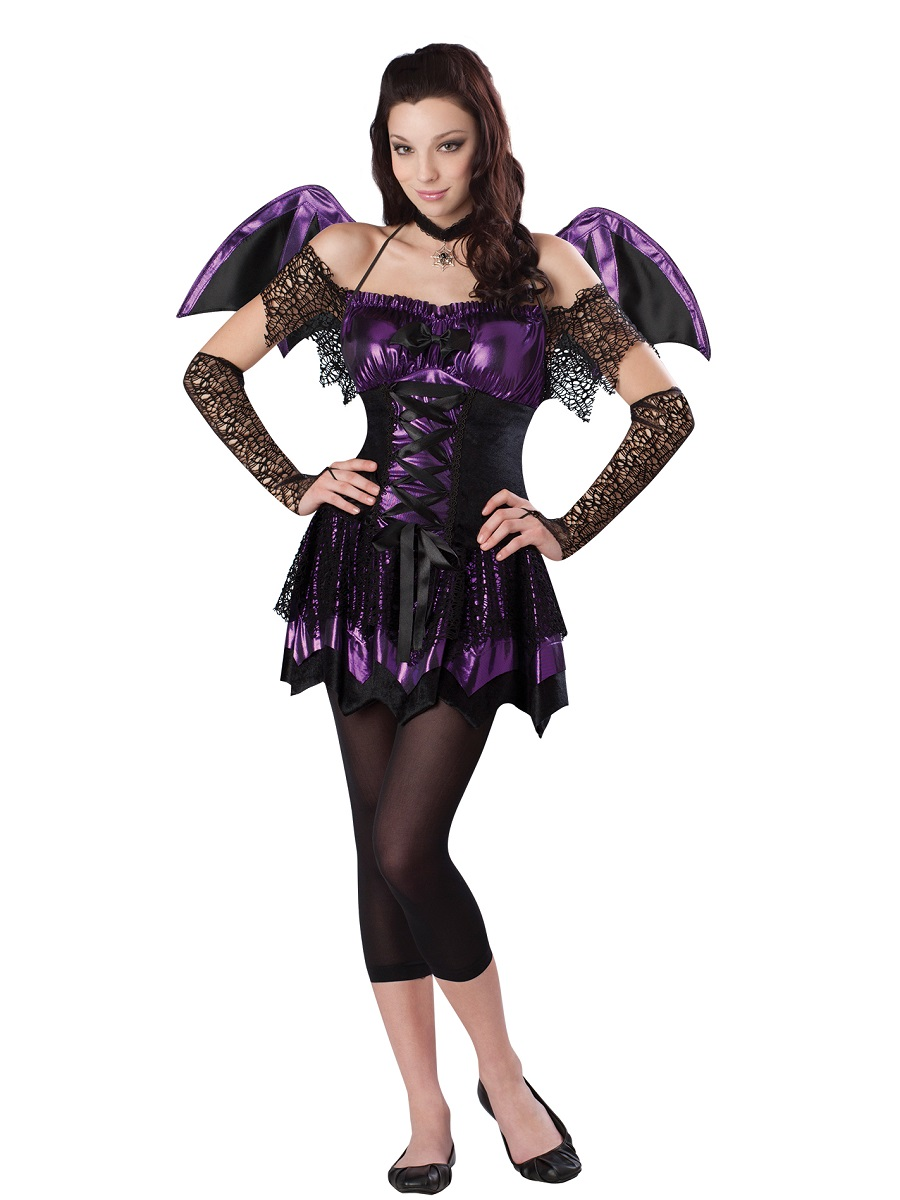 teen batitude costume 999439 fancy dress ball. Black Bedroom Furniture Sets. Home Design Ideas