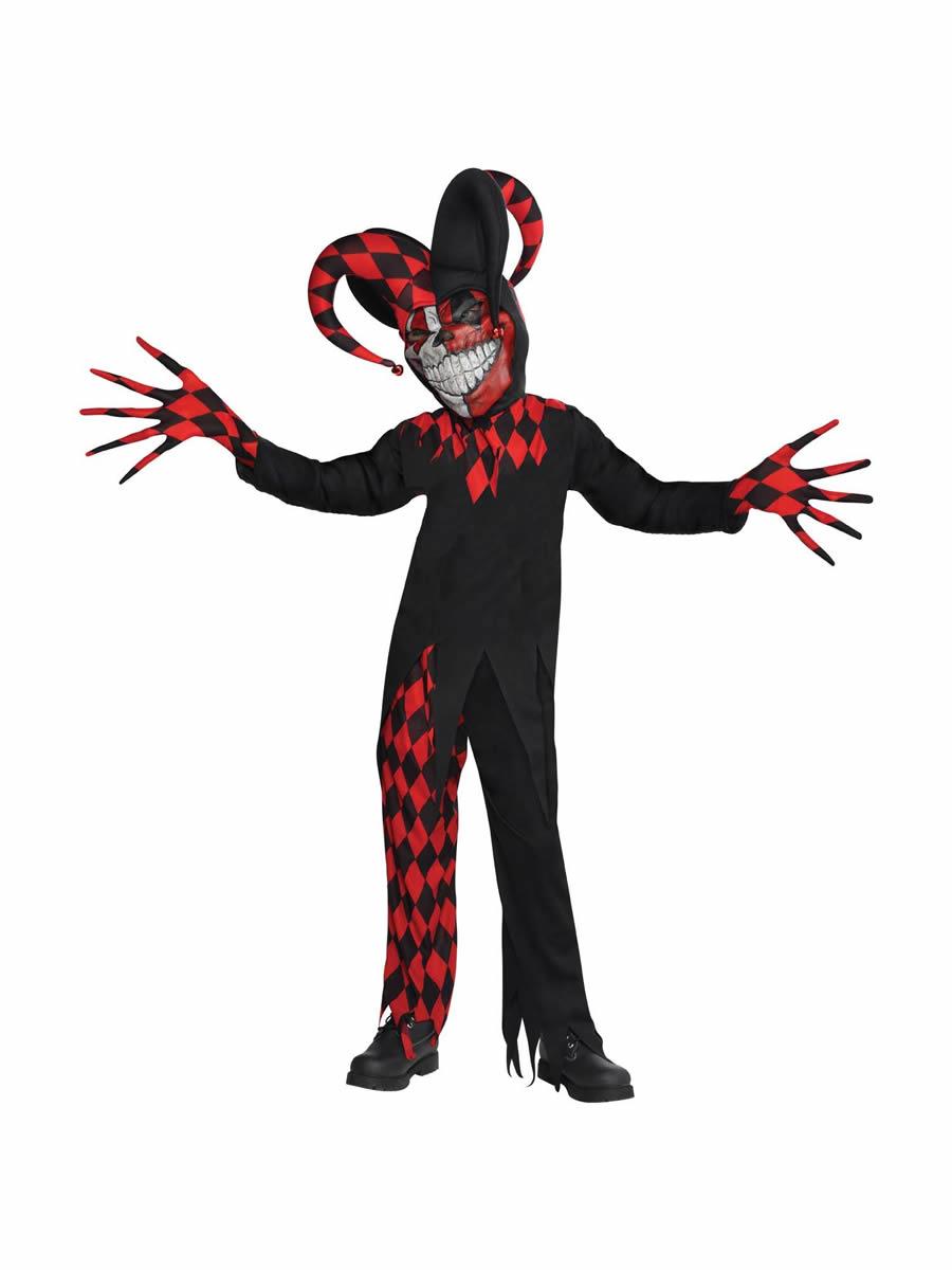 Teen Krazed Jester Costume