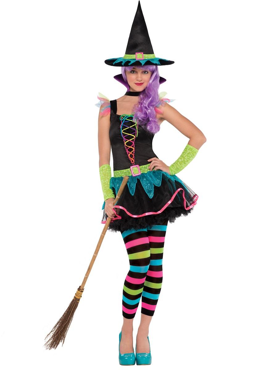 Teen Neon Witch Costume - 997499 - Fancy Dress Ball