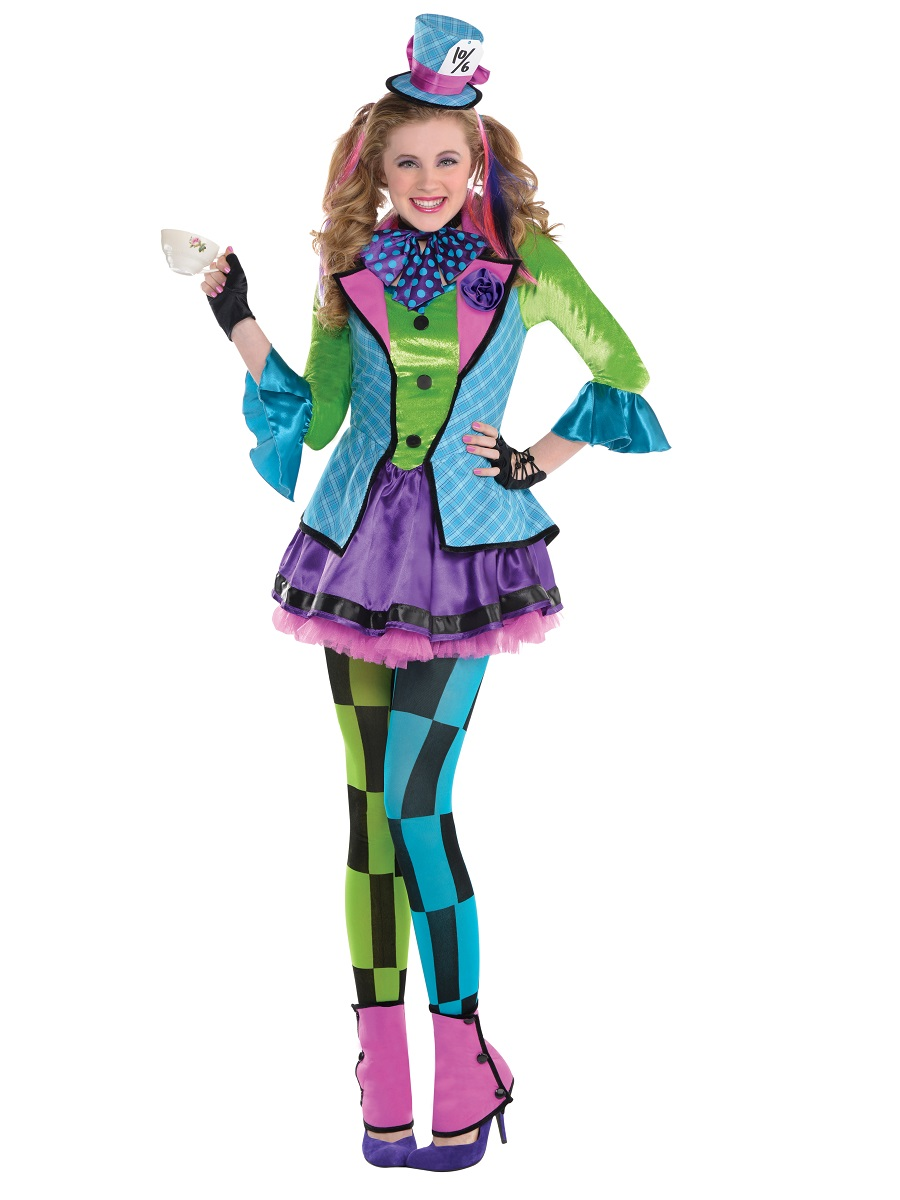 teen sassy mad hatter costume - Cool Halloween Costumes For Teenagers