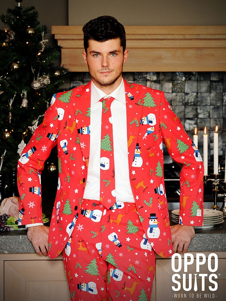 Adult Christmaster Oppo Suit - 0020 - Fancy Dress Ball
