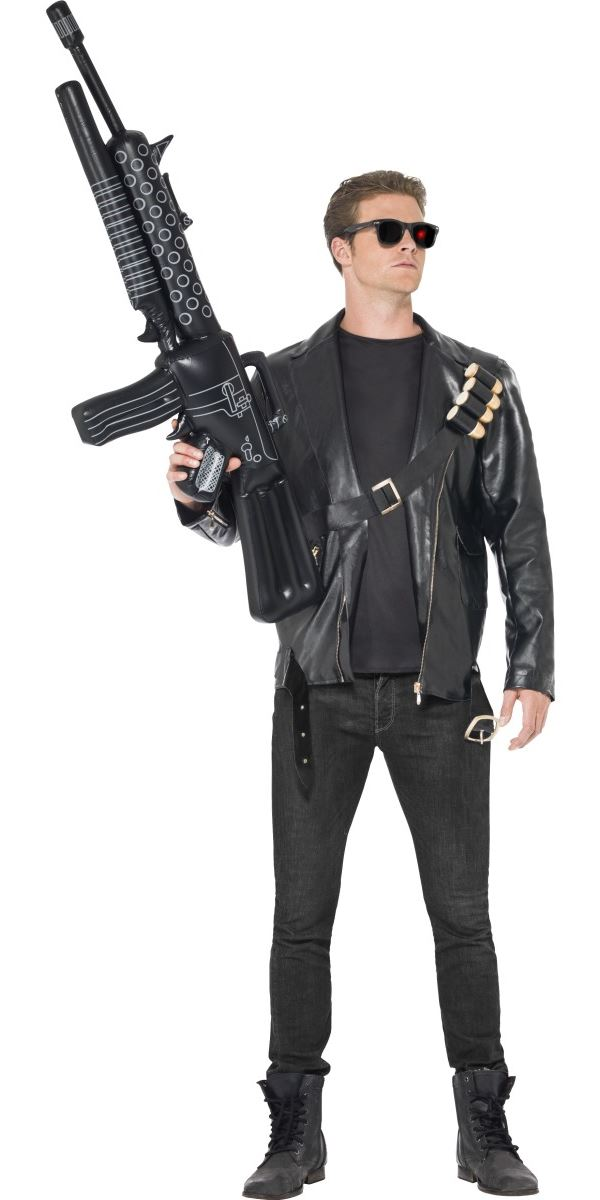 adult terminator 2 judgement day costume   38224   fancy