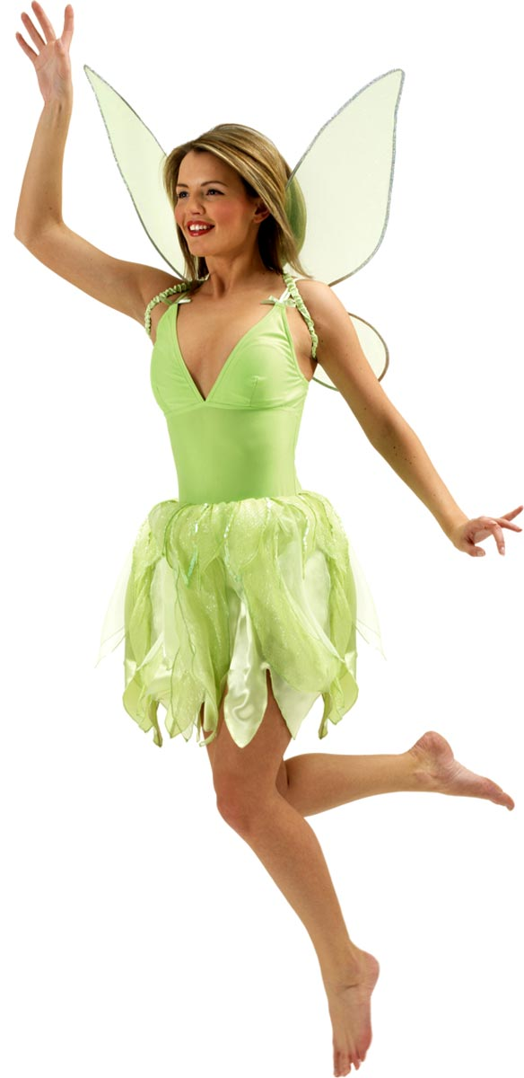 deluxe tinkerbell costume 888589 fancy dress ball. Black Bedroom Furniture Sets. Home Design Ideas