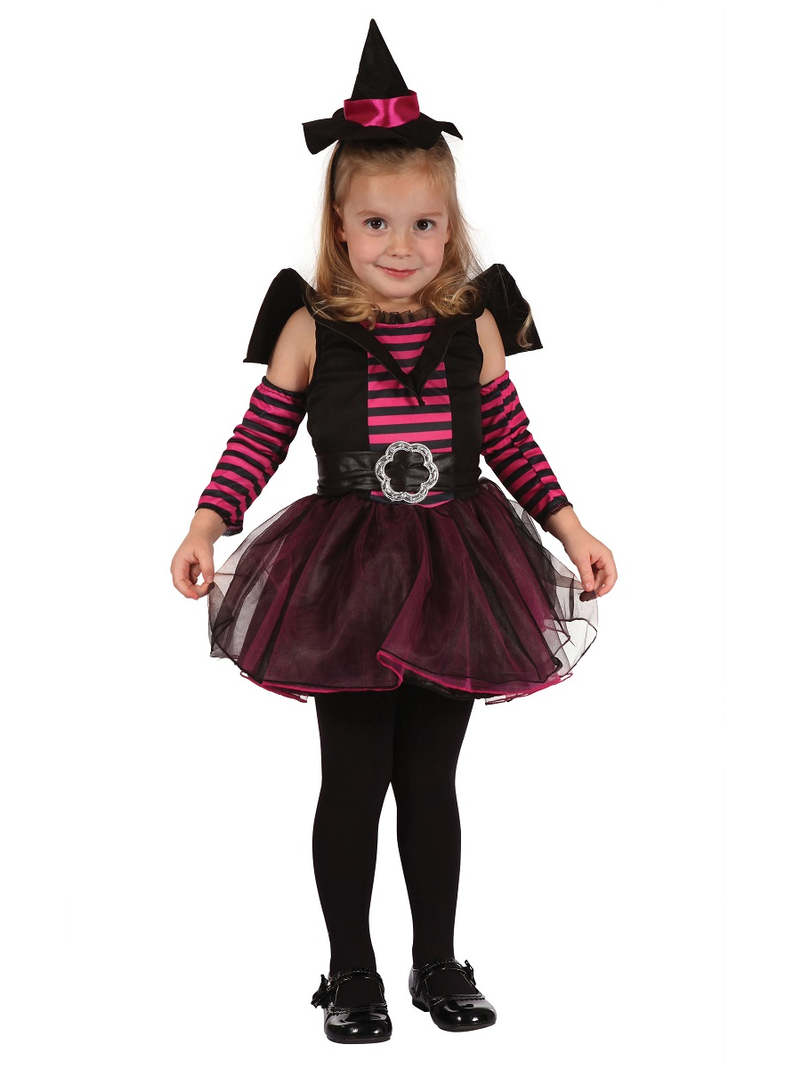 Toddler Cute Witch Costume Cc066 Fancy Dress Ball