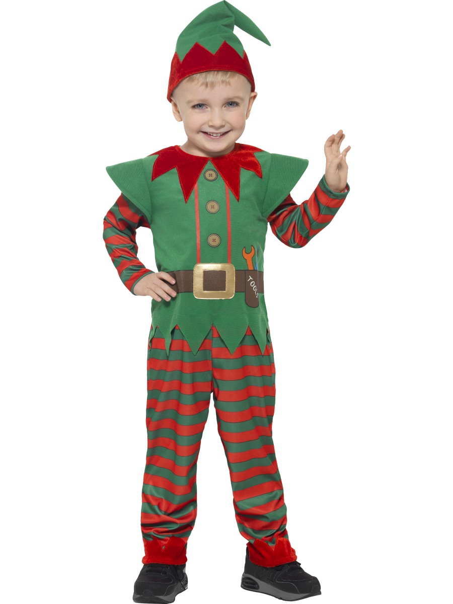 Toddler elf costume 21489 fancy dress ball - Traje de duende para nino ...