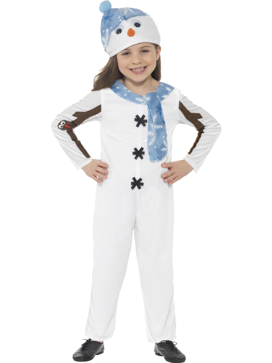 Toddler Snowman Costume 21480 Fancy Dress Ball