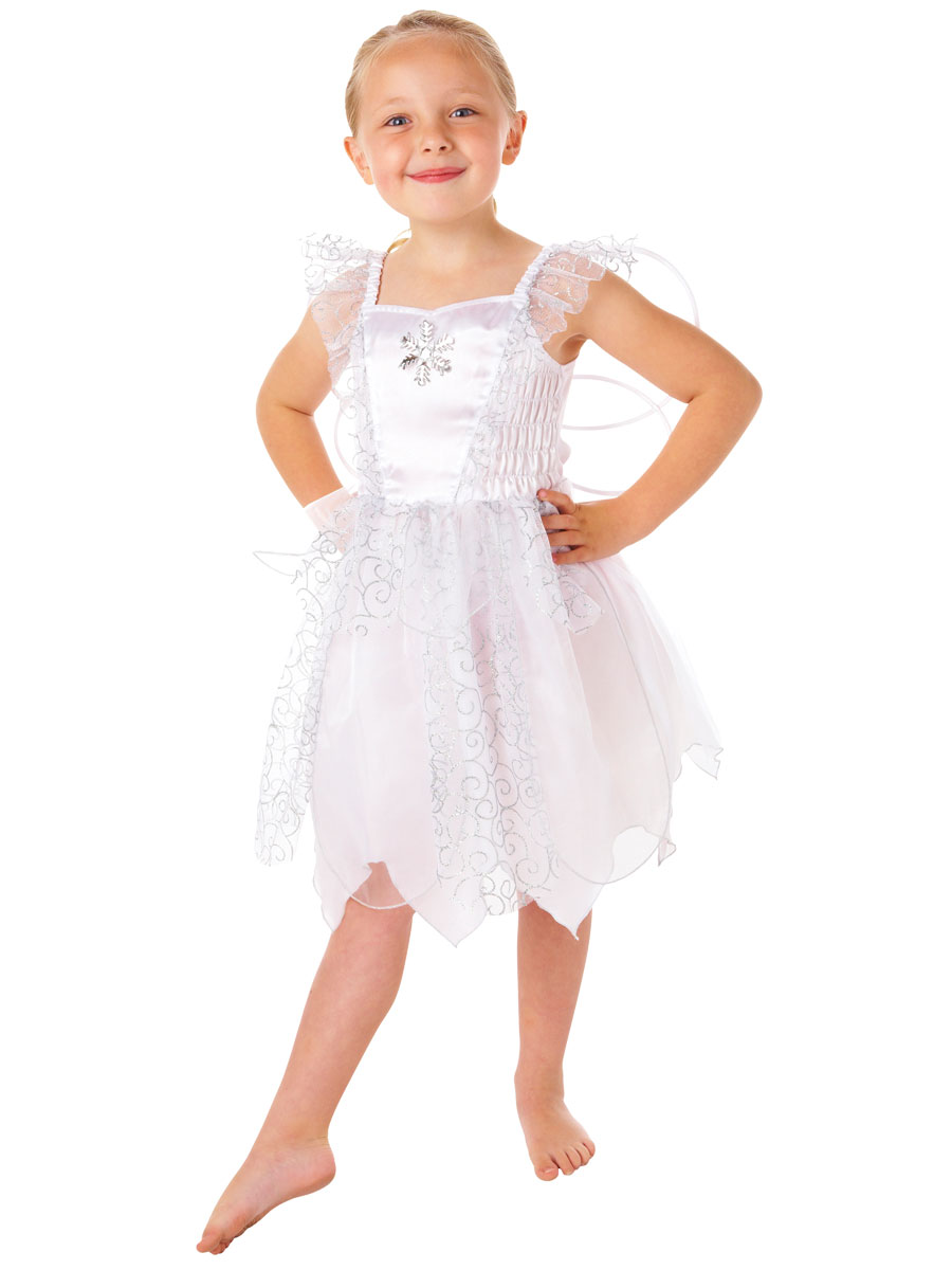 Toddler White Fairy Costume Fancy Dress Ball