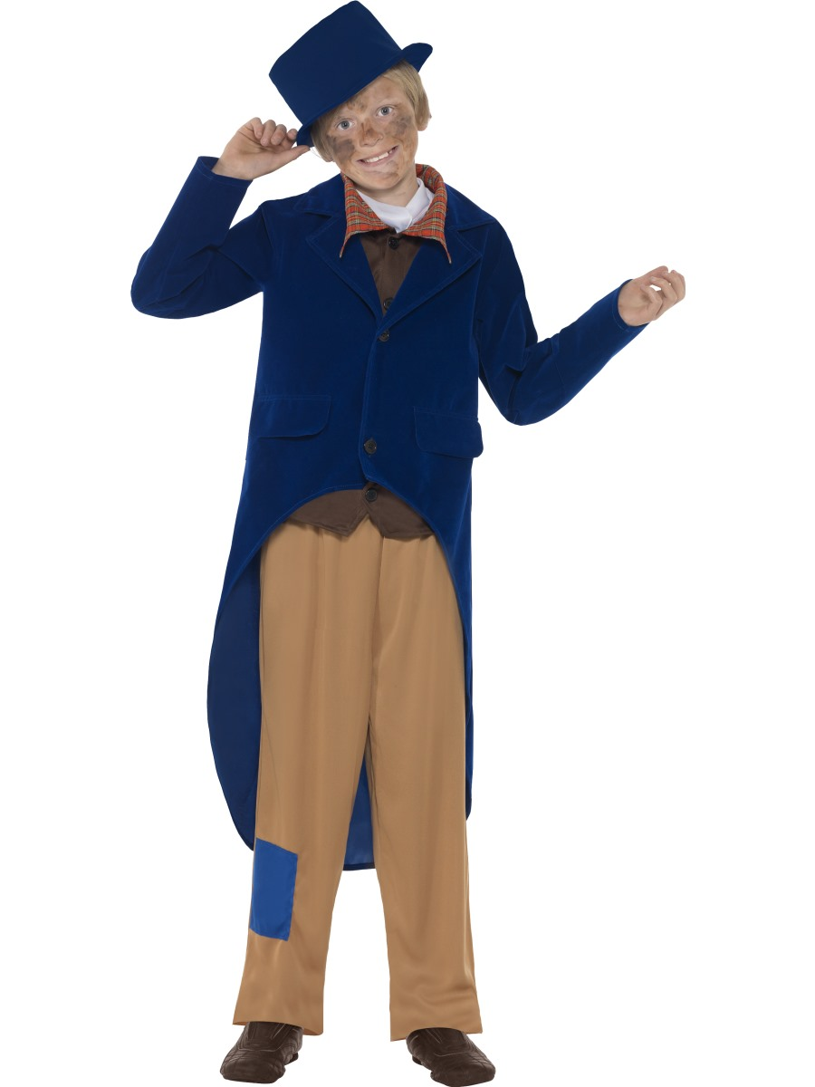 Child Dickensian Boy Costume 44014 Fancy Dress Ball
