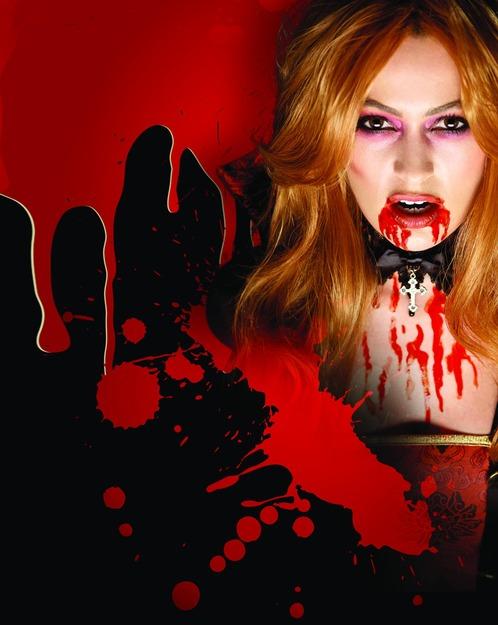 Vampire Blood Halloween   Vampire Blood Tube Large 48338 Fancy Dress Ball