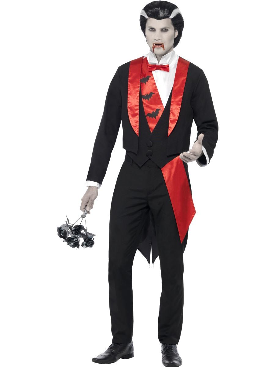 adult vampire leading man costume 21457 fancy dress ball. Black Bedroom Furniture Sets. Home Design Ideas