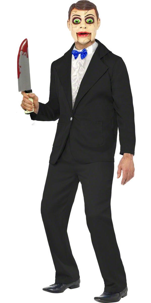 adult ventriloquist dummy costume 21581 fancy dress ball. Black Bedroom Furniture Sets. Home Design Ideas