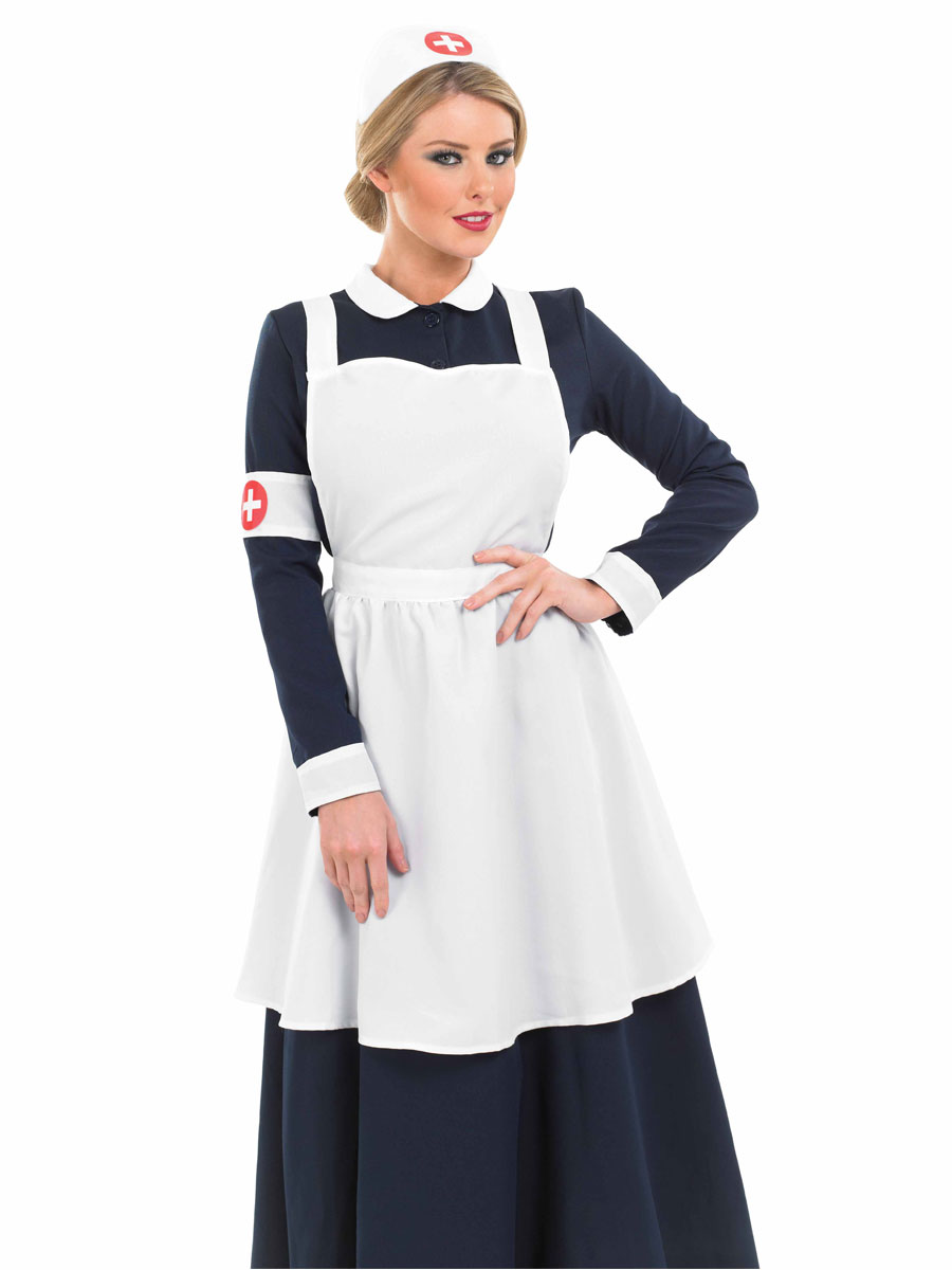 910e81d52b524 Adult Victorian Nurse Costume - FS3283 - Fancy Dress Ball