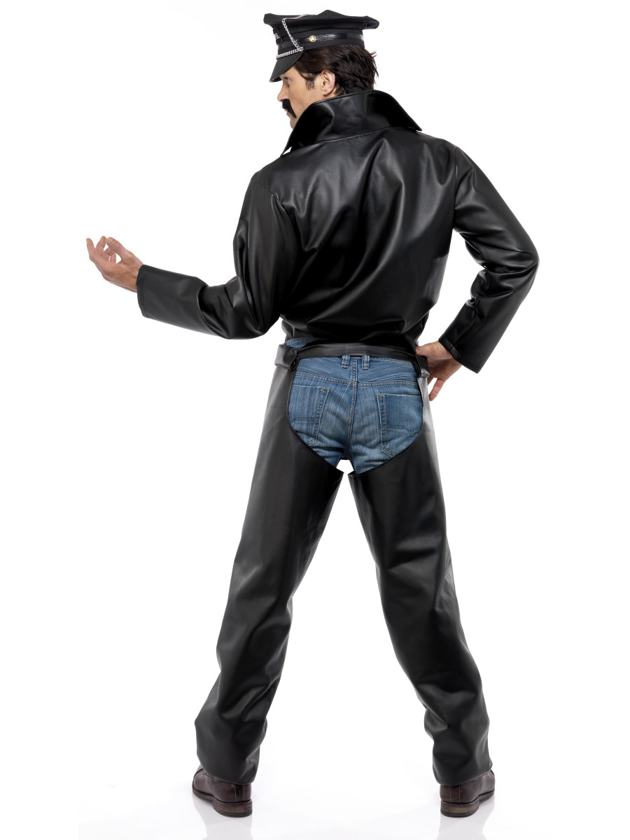Adult Village People Biker Costume - 36239 - Fancy Dress Ball