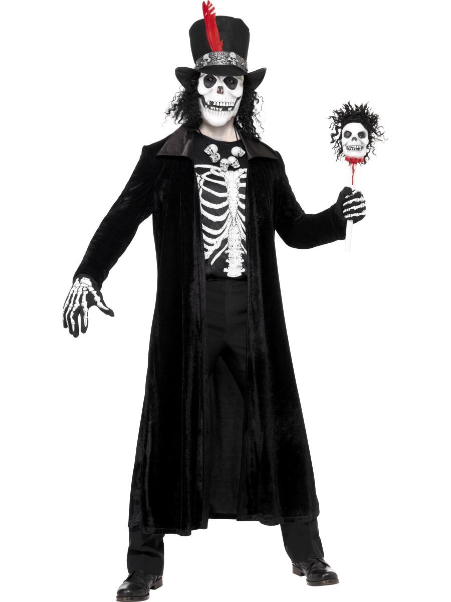Adult Skeleton Voodoo Man Costume · VIEW FULL IMAGE  sc 1 st  Fancy Dress Ball & Adult Skeleton Voodoo Man Costume - 30403 - Fancy Dress Ball