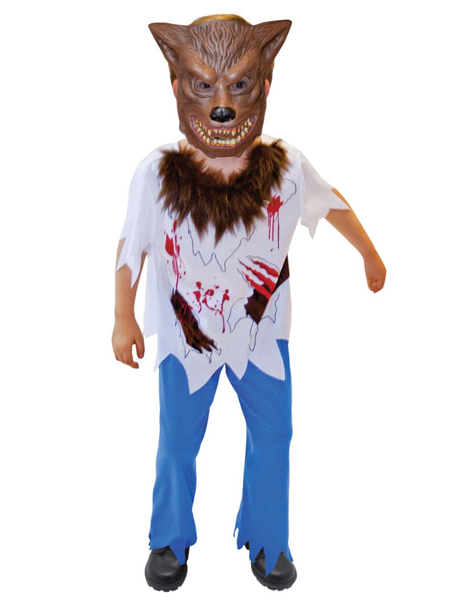 Aninimal Book: Werewolf Boy Costume - 996237 - Fancy Dress Ball