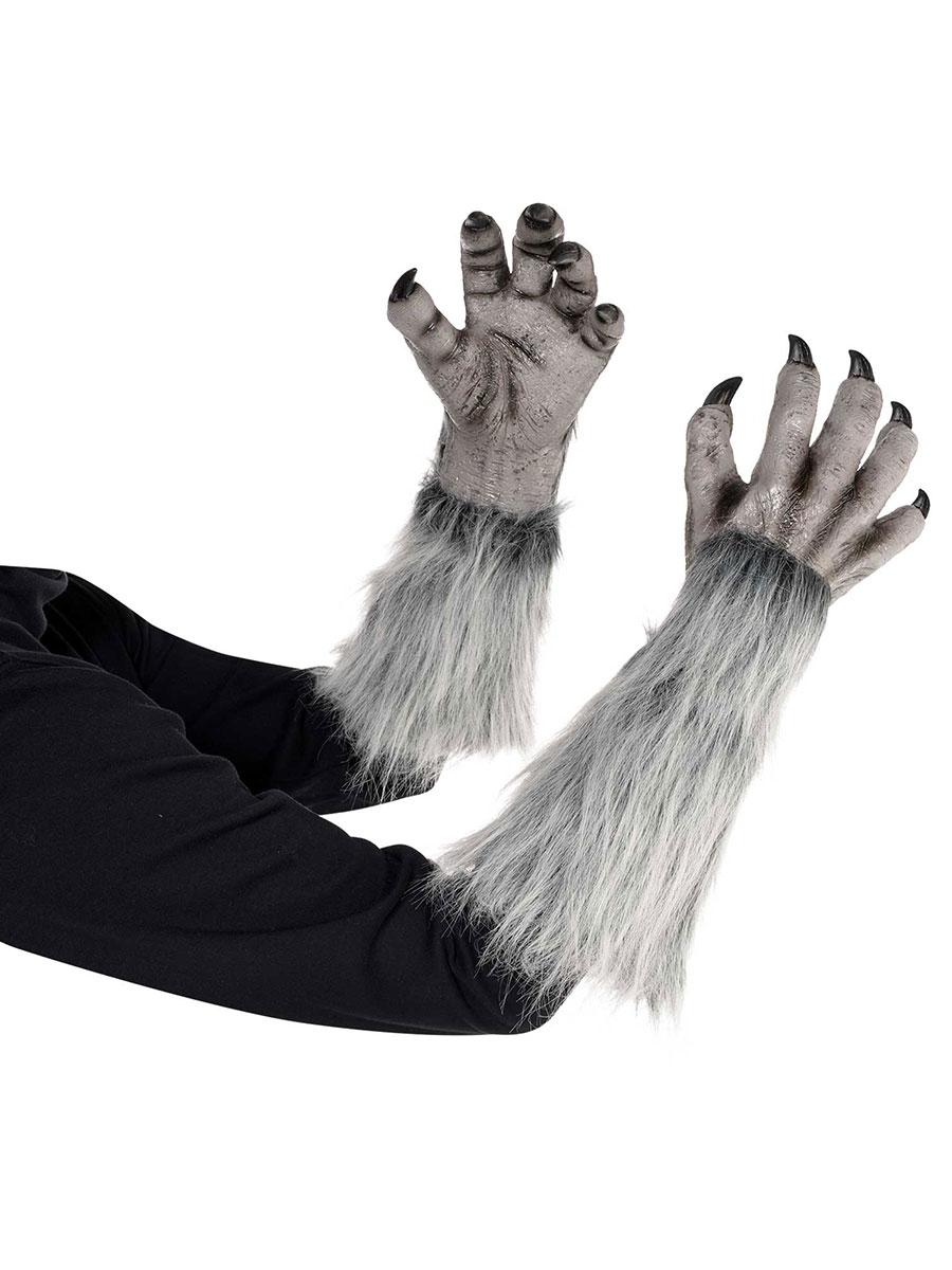 Werewolf Gloves 848720 55 Fancy Dress Ball