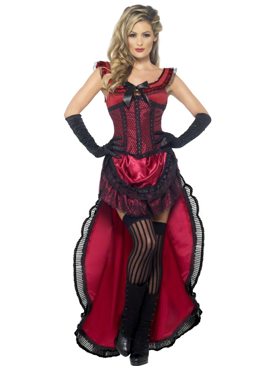 VIEW FULL IMAGE  sc 1 st  Fancy Dress Ball & Adult Western Authentic Brothel Babe Costume - 45233 - Fancy Dress Ball
