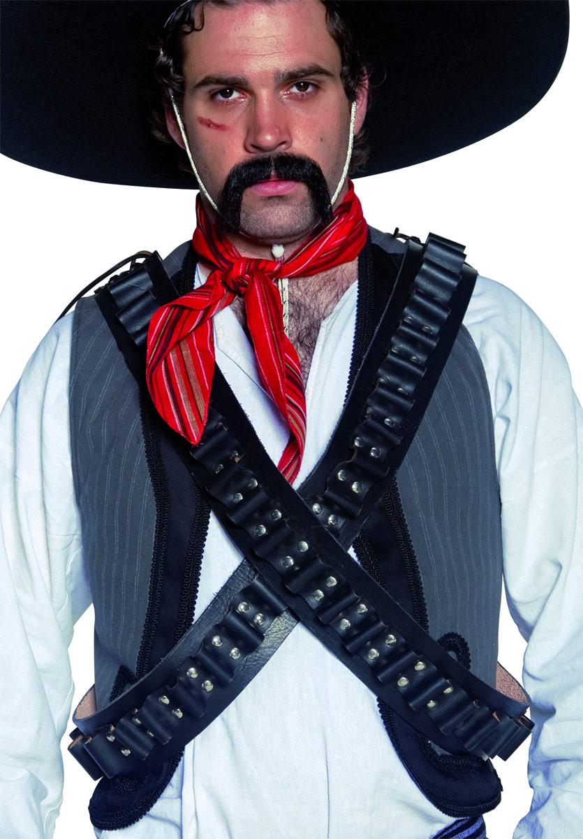 western bandolier bullet belt 32965 fancy dress
